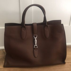 Gucci Chocolate Brown Leather Purse